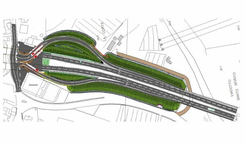 Il progetto rampe ad Albiano Magra