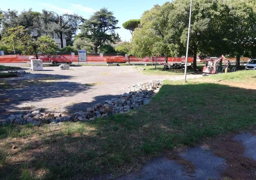 Lavori per lo skate park a Massa