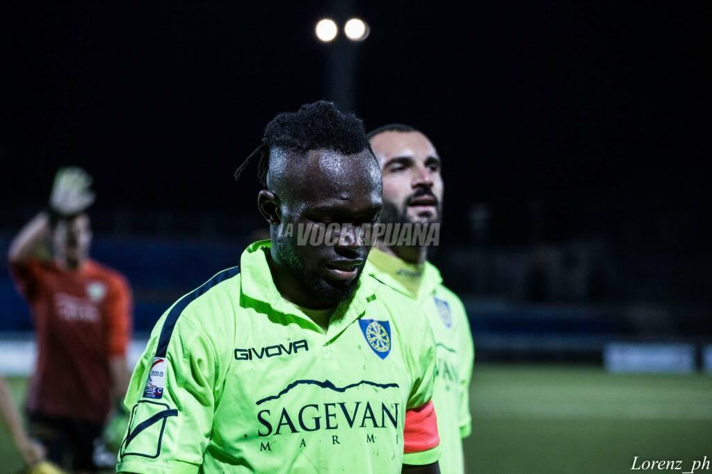 Carrarese-Pistoiese (2-0): il fotoracconto della partita