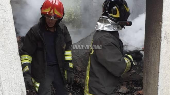 incendio essicatoio castagne