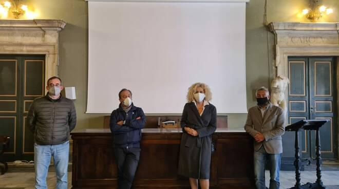 La commissione del premio Città di Carrara