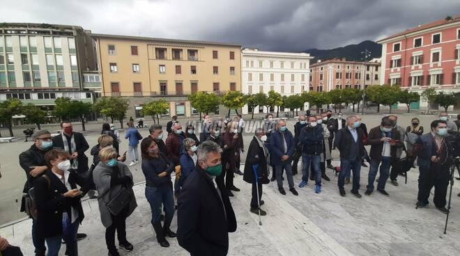 La conferenza del 22 ottobre 2020 di Giacomo Bugliani in piazza Aranci
