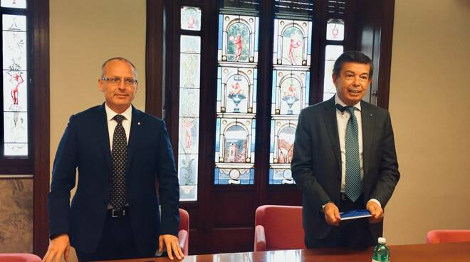 Matteo Venturi e Umberto Paoletti