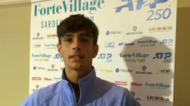 Musetti al Forte Village Open 2020
