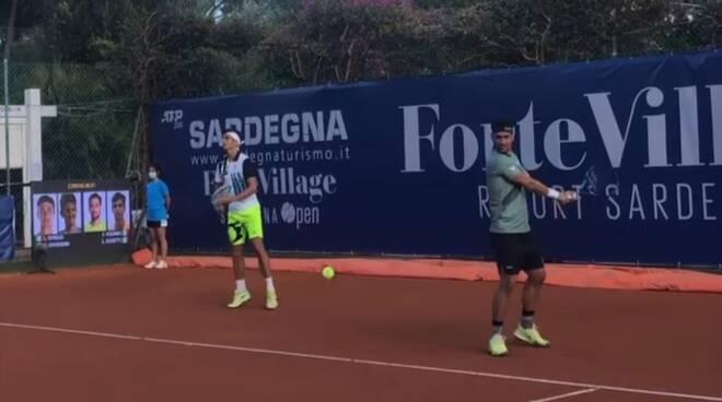 Musetti e Fognini in doppio al Forte Village Open