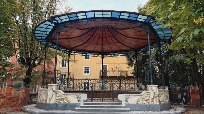 Palco della musica a Carrara