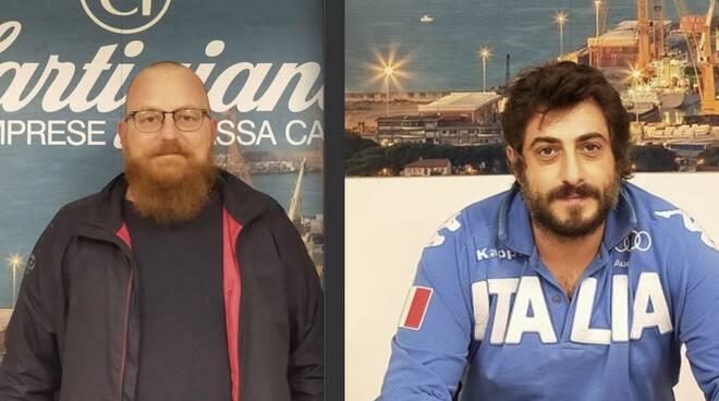 Roberto Boggi e Gabriele Giovanelli