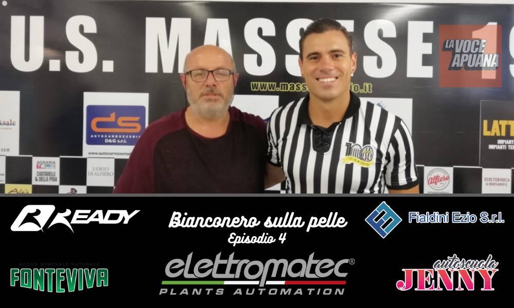 Copertina episodio 4 Bianconero sulla pelle con Mariano Rudi