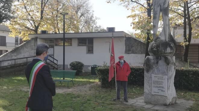 La commemorazione dell'eccidio di Avenza al parco del Partigiano
