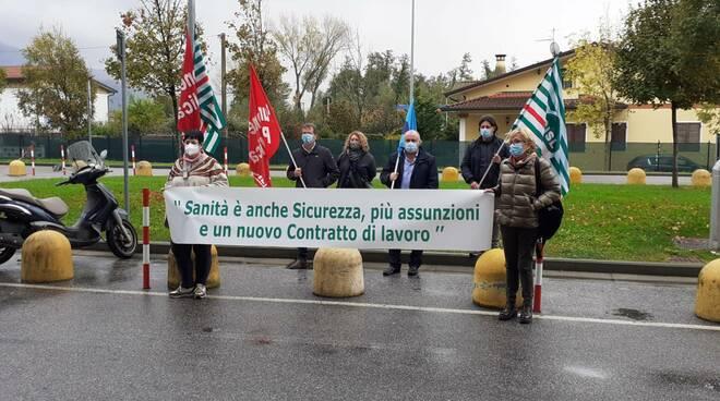 protesta sindacati noa