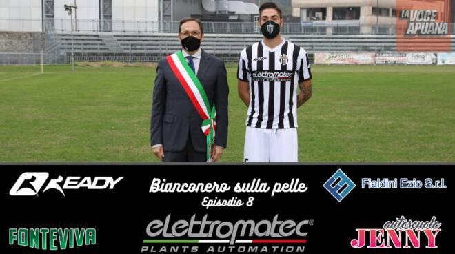 Bianconero sulla pelle Episodio 8 la cover col sindaco Persiani