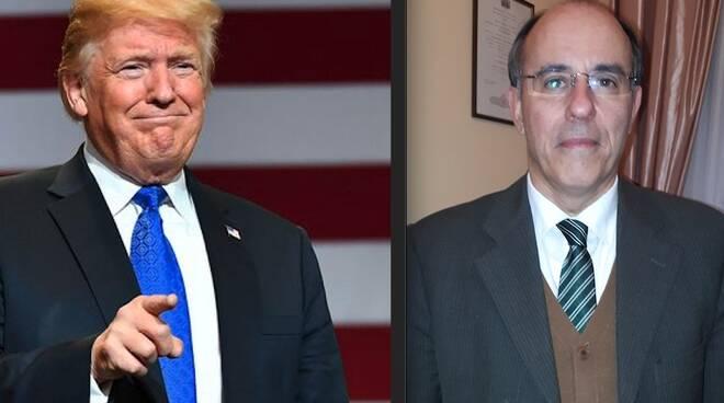 Donald Trump e Lodovico Andreazzini