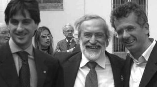 Enrico Ferri con i figli Jacopo e Cosimo