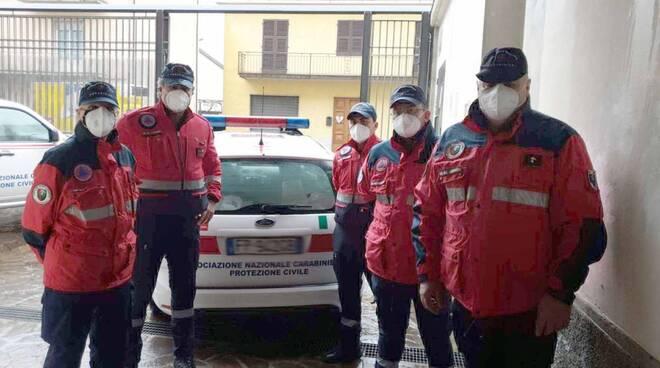 Volontariato, associazione carabinieri