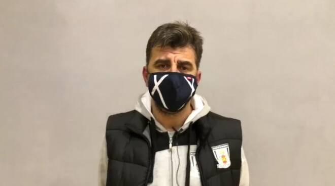 Felice Mastropierro, allenatore Città di Massa