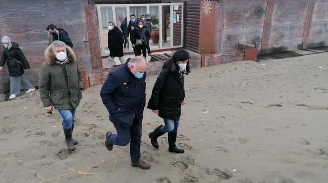 Gianni Lorenzetti e Monia Monni per il problema dell'erosione