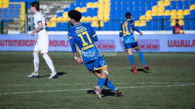 Carrarese-Lecco (1-2): la fotogallery della partita