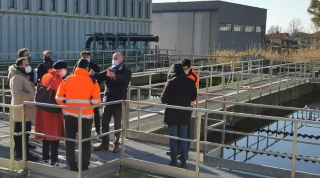 Depuratore Lavello 2 laboratorio gaia