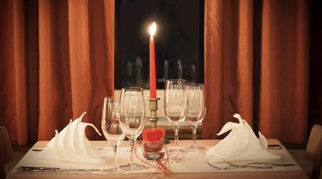 ristorante san valentino cena lume di candela