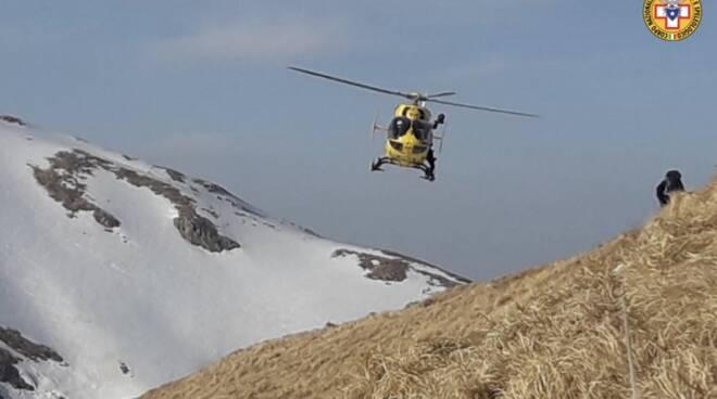 soccorso alpino marmagna pegaso elisoccorso