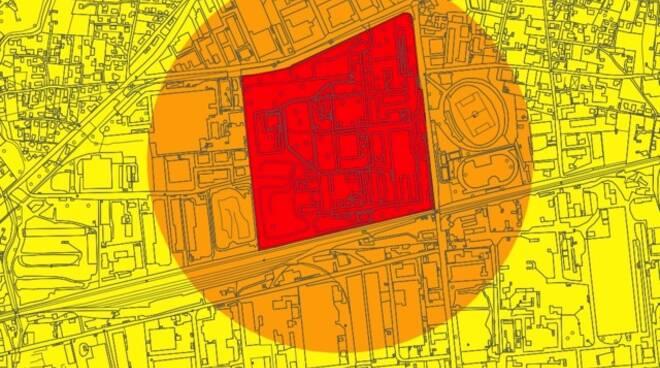 Mappa del rischio a massa