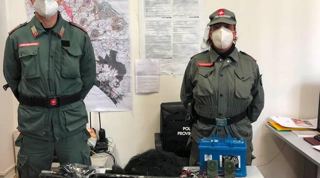 polizia provinciale bracconaggio