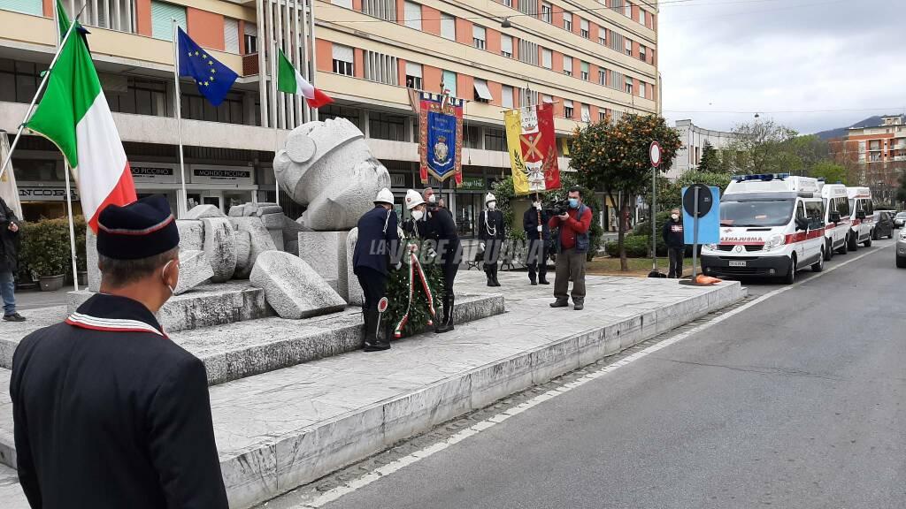 76esimo anniversario della liberazione di Massa