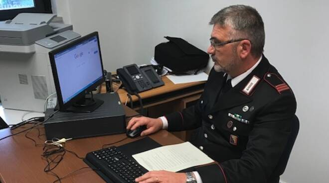 carabinieri computer denuncia