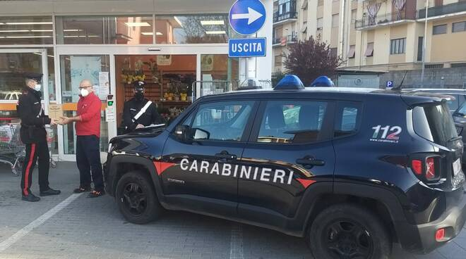carabinieri supermercato conad