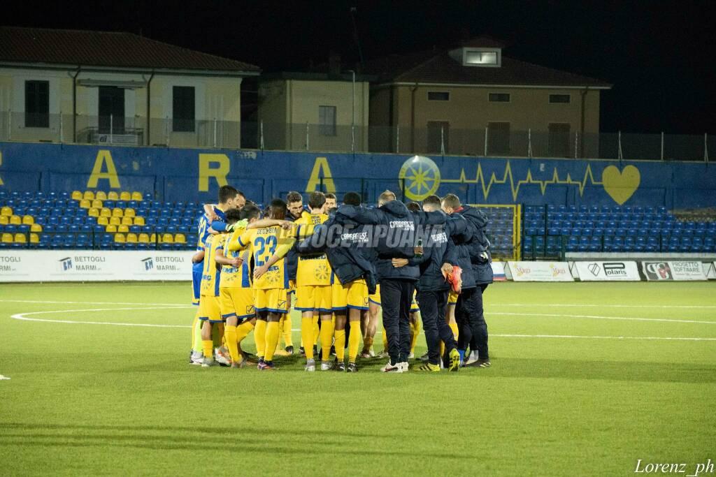 Carrarese-Lucchese (3-1): il fotoracconto della partita