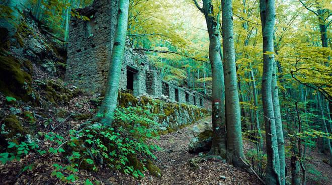 La casa dei minatori di Scortico, sulle Apuane