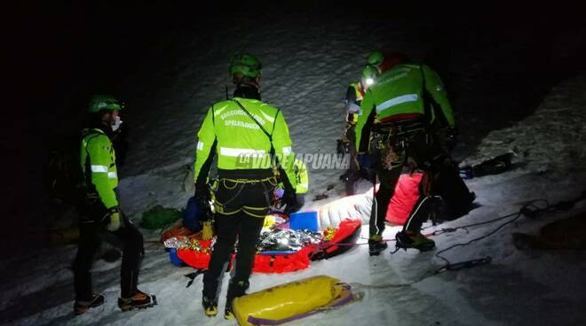 soccorso alpino notte