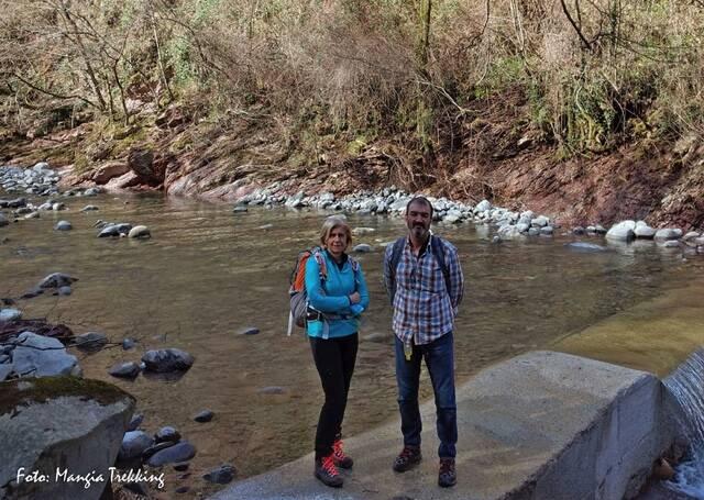 Sopralluogo di mangia trekking a Gordana, Zeri