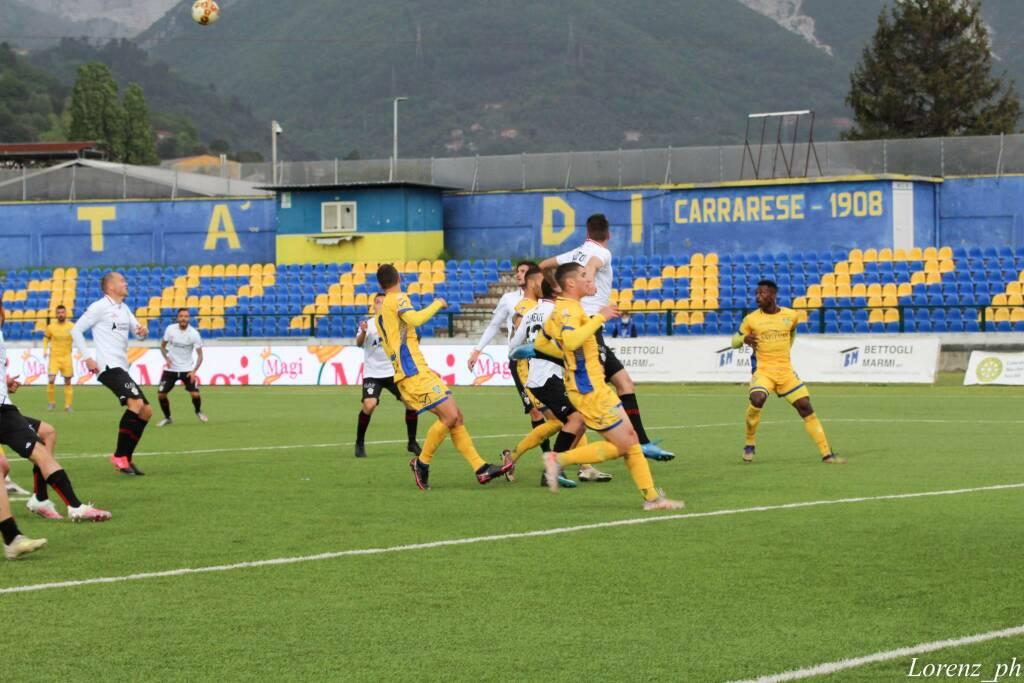 Carrarese-Pro Vercelli (0-0): il fotoracconto del match
