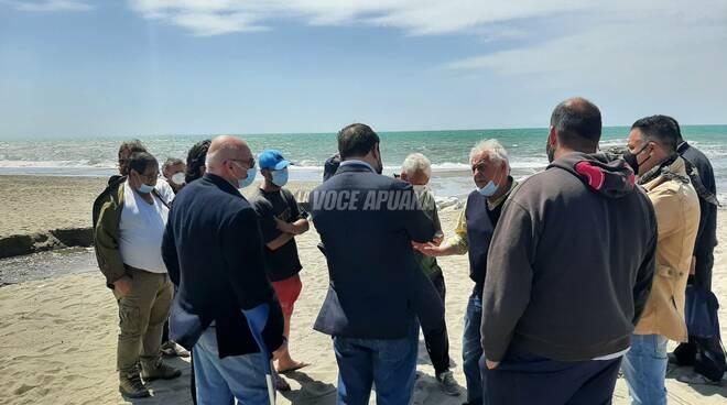 L'incontro di Fratelli d'Italia per discutere dell'idrovora di Poveromo