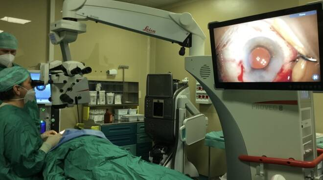 microscopio oculistico oculistica franco passani