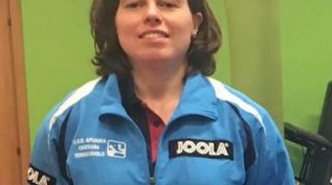 Pamela Bellari di Apuania Carrara Tennis Tavolo