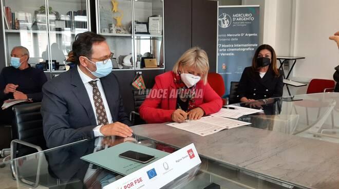 """Persiani, Podestà e Guglielmi firmano il progetto """"Sos Covid: mai più soli"""""""