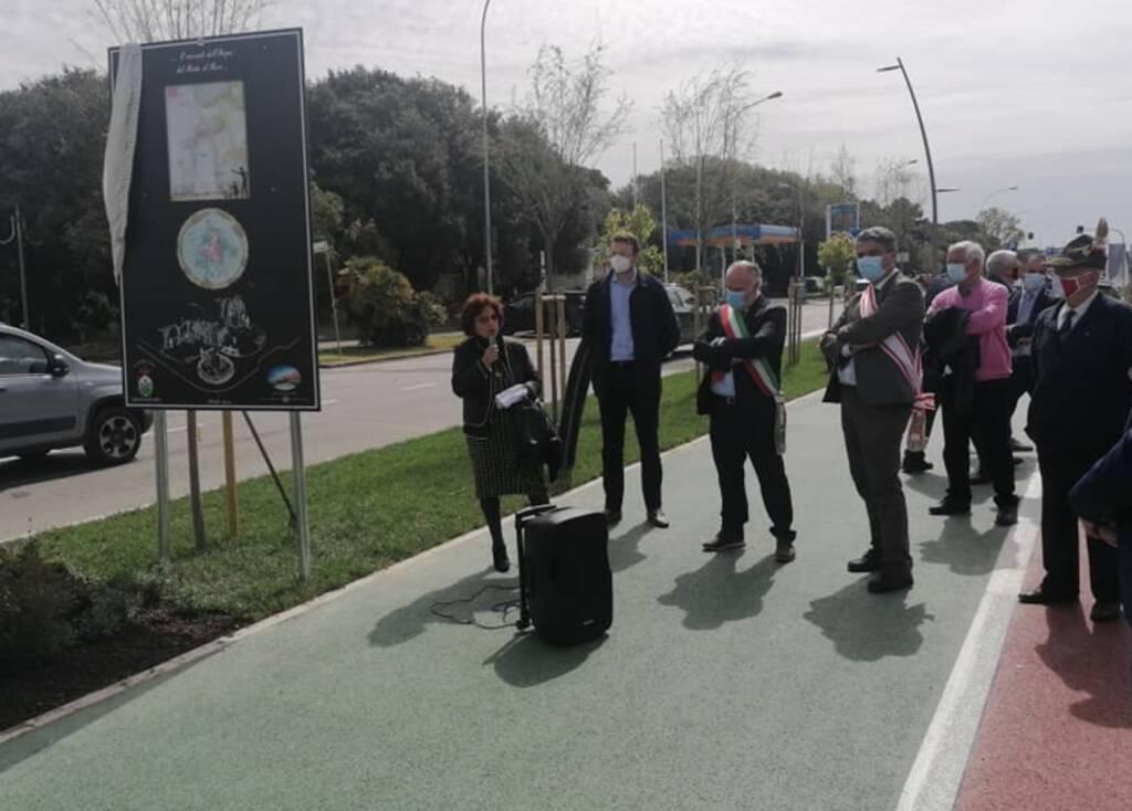 pista ciclabile inaugurazione