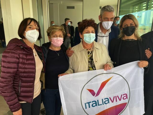 Teresa Bellanova (Iv) fa visita a Carrara