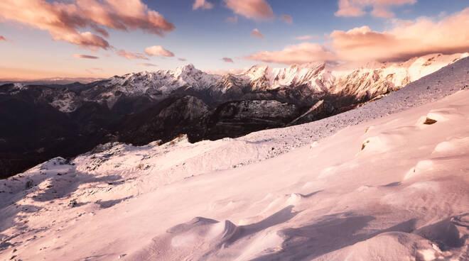 Alpi Apuane innevate