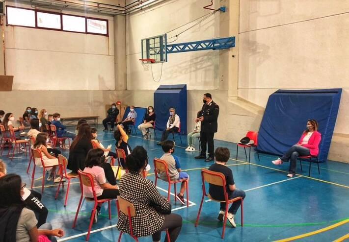 carabinieri scuola gentili fossola
