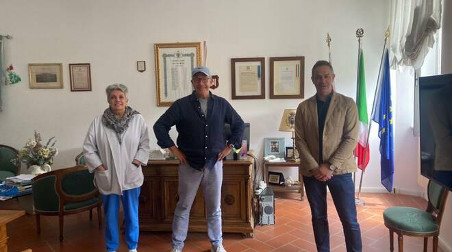 Francesca Nobili, Peter Chelsom, Gianluigi Giannetti