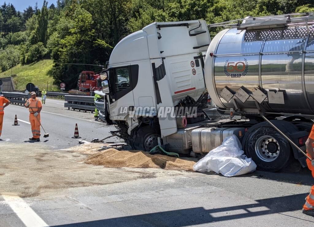incidente camion a15