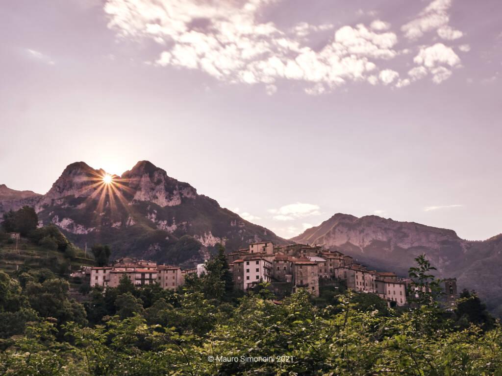 L'alba dal Monte Forato