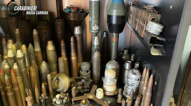 carabinieri arsenale bellico seconda guerra mondiale