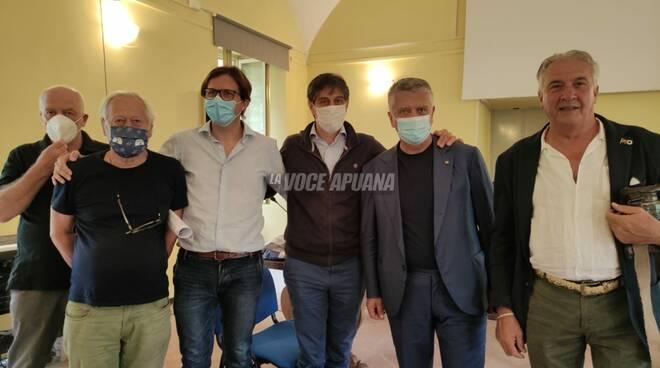 Massimo Mallegni e Jacopo Ferri
