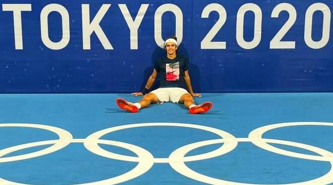 Lorenzo Musetti alle Olimpiadi di Tokyo 2020