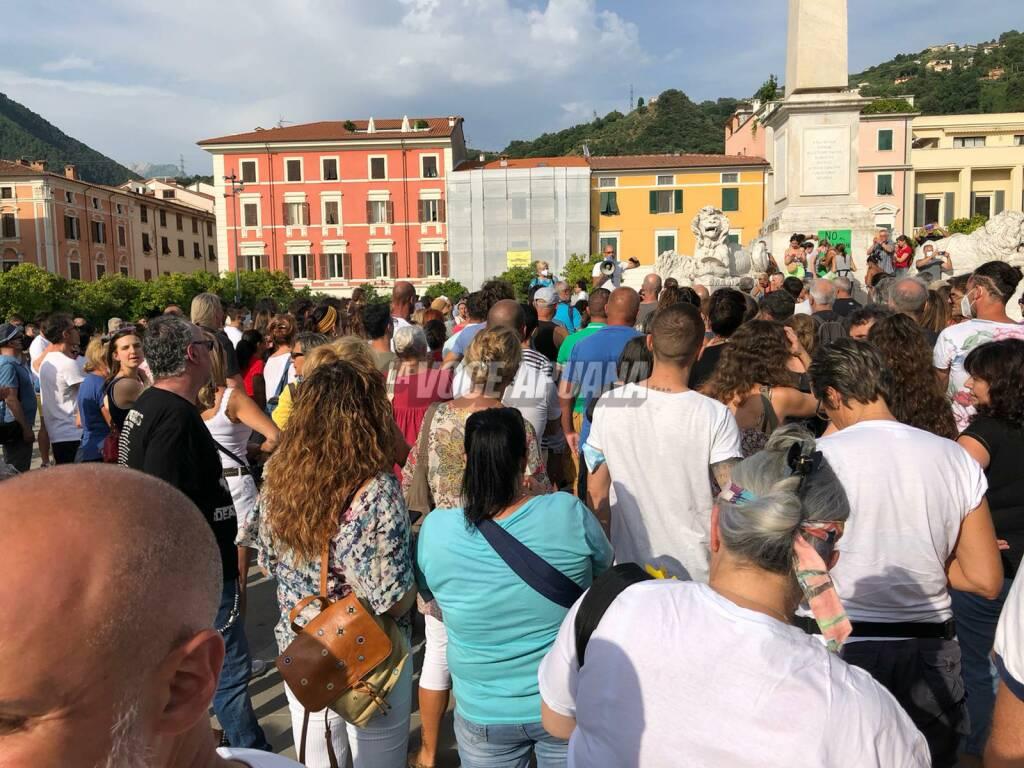 no green pass piazza aranci