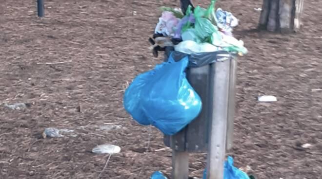 rifiuti cestino